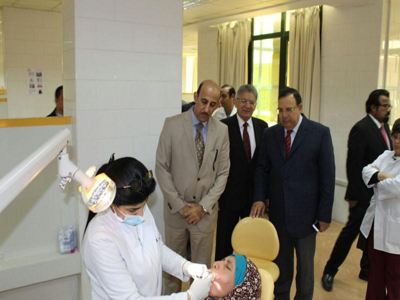 Cultural attache for Kingdom of Saudi Arabia Embassy visit to MSA University