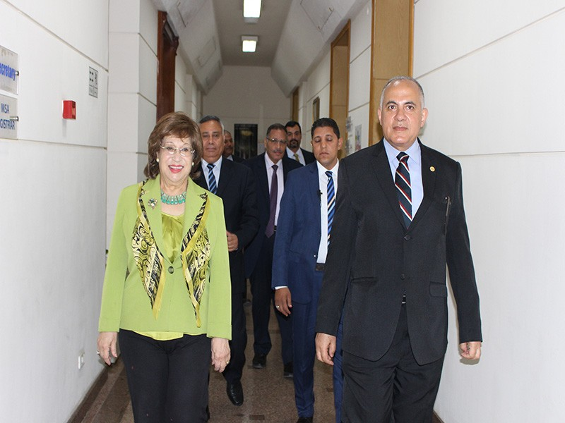 The Minister Of Irrigation And Water Resources Visit