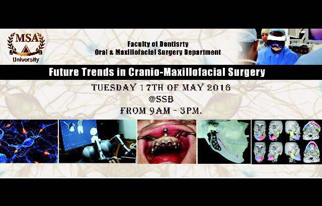 Future trends in cranio-maxillofacial surgery