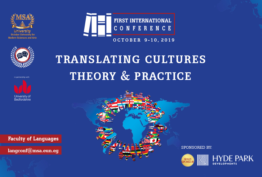 MSA University - Translating Cultures: Theory and Practice
