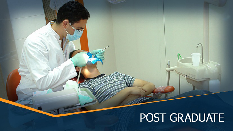 MSA University - 1st Master's Degree in Conservative and Esthetic Dentistry.