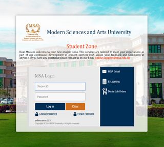 MSA University - Course Registration