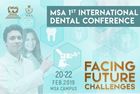 MSA 1st international Dental Conference