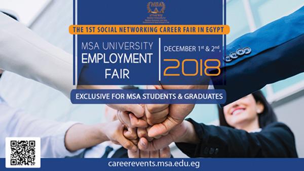 MSA Employment Fair 2018
