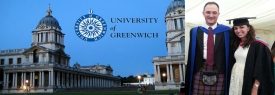 MSA's Aicha Awarded her Msc from Greenwich