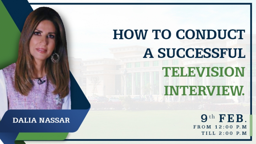 How to Conduct a successful Television Interview