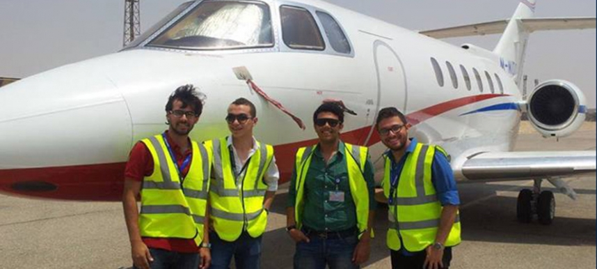 Summer internship for ENG Students @ Egypt Air