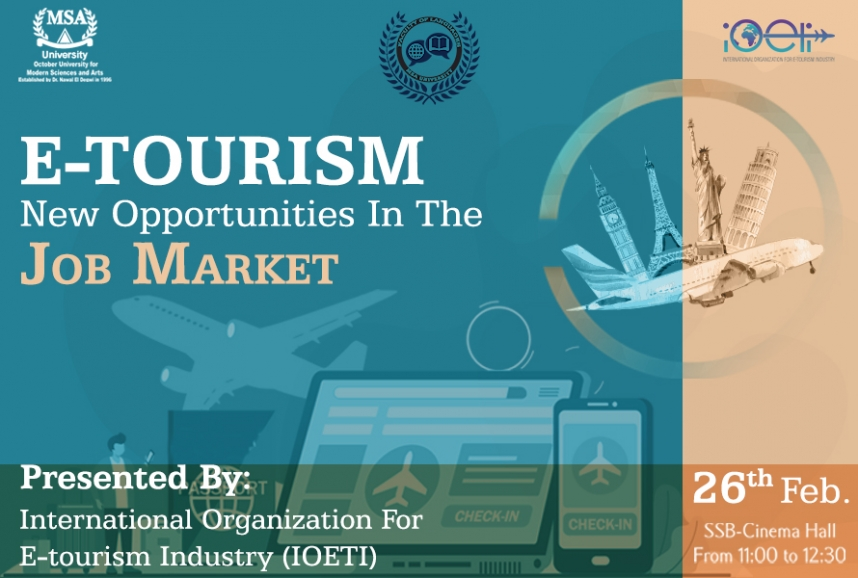 E-Tourism New Opportunities in the Job Market