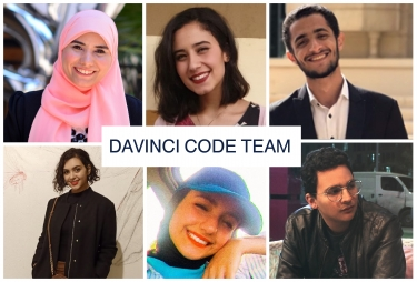 Our amazing Davinici code team