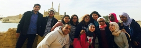 Economics department organize a trip to little Egypt