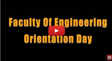 Faculty of Engineering Orientation Day 2017
