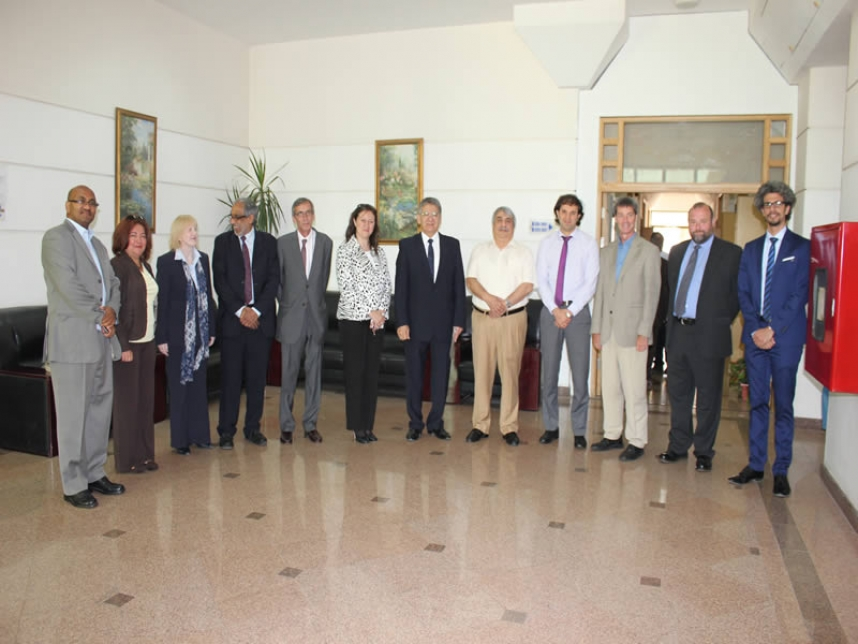 The Visit of the Delegation of University of Greenwich