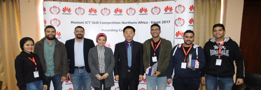 Engineering MSAians winning Huawei competition