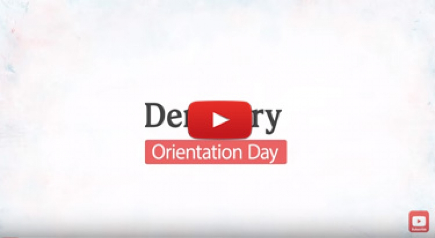 Faculty of Dentistry Orientation Day 2017