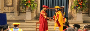 MSAian awarded PHD of Philosophy from UOG