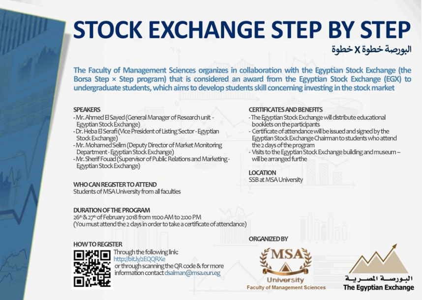 Stock Exchange Step By Step (البورصة خطوة * خطوة) –The Third Round