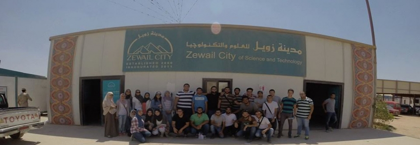 """Students of faculty of engineering- Department of Architecture visit ""Zewel City project"" site (Under supervision of the Engineering Authority of the Armed Forces)"""