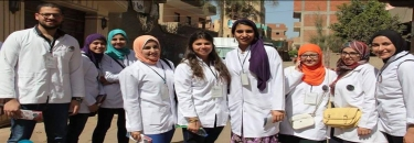 "The faculty of dentistry has sent a medical convoy to ""Al Qanater"""