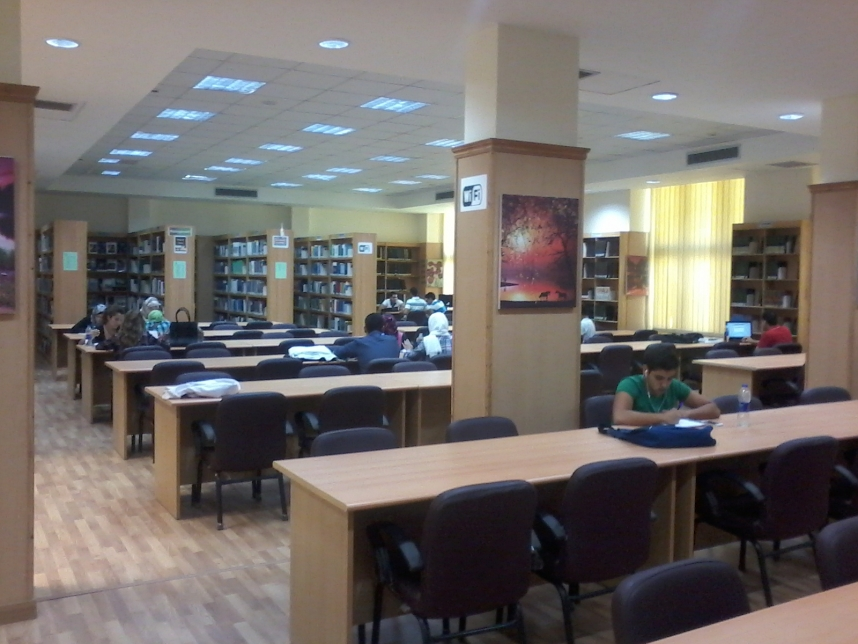 The Main Library of MSA University