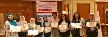 "Winning award for the best poster at ""Bridging Gaps in Oncology Congress"""