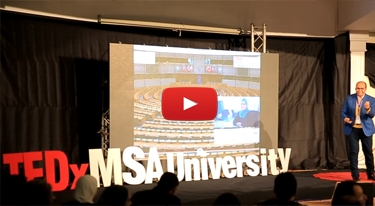 The Art of Happiness - Egyptian Perception | Ahmed Reda | TEDxMSAUniversity