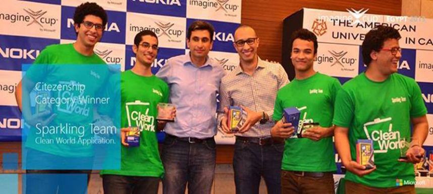 MSAian Grabs Citizenship Award at Microsoft's ImagineCup